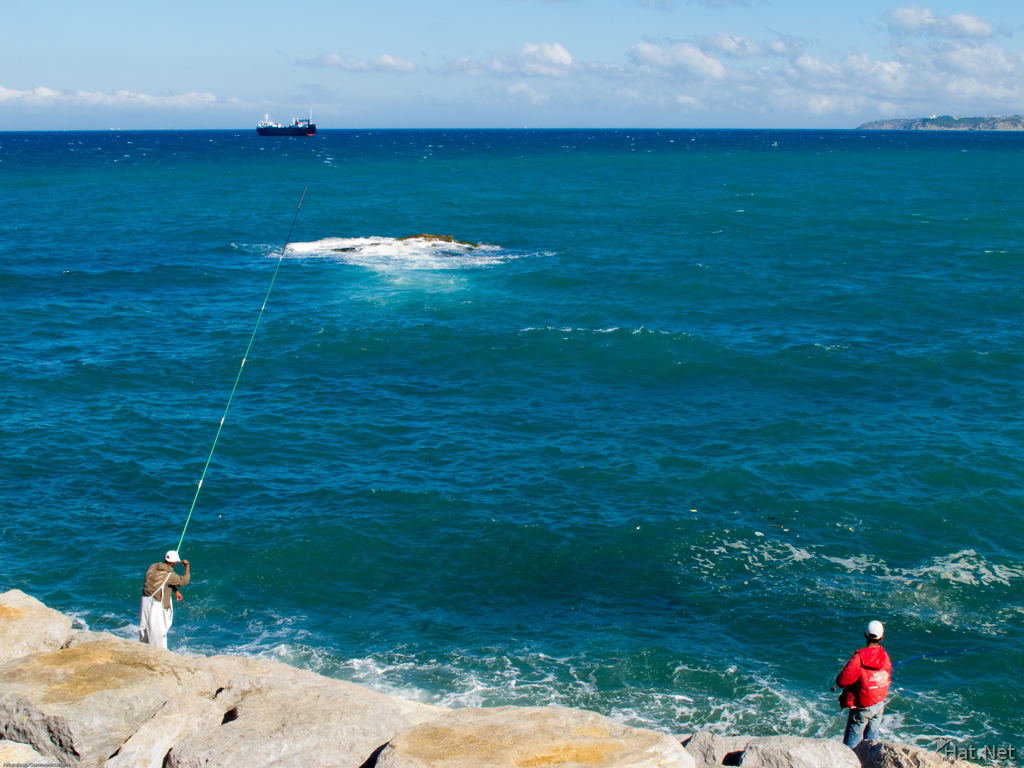 fishing in tangier