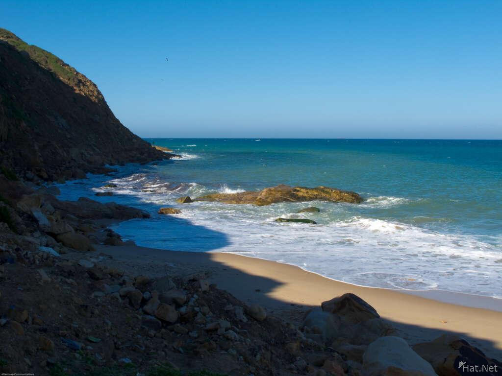 Tangier Beach Rocks Tangier Coast Moorish Empire
