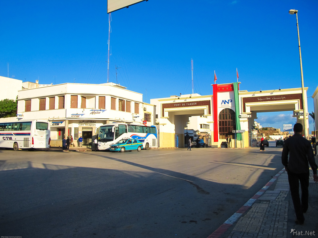 transport--tangier ctm bus station
