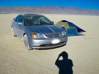 My Civic need a shower Black Rock City,  Nevada,  United States, North America