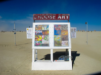 choose art Black Rock City,  Nevada,  United States, North America