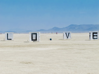 love Black Rock City,  Nevada,  United States, North America