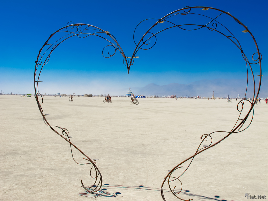 love in desert