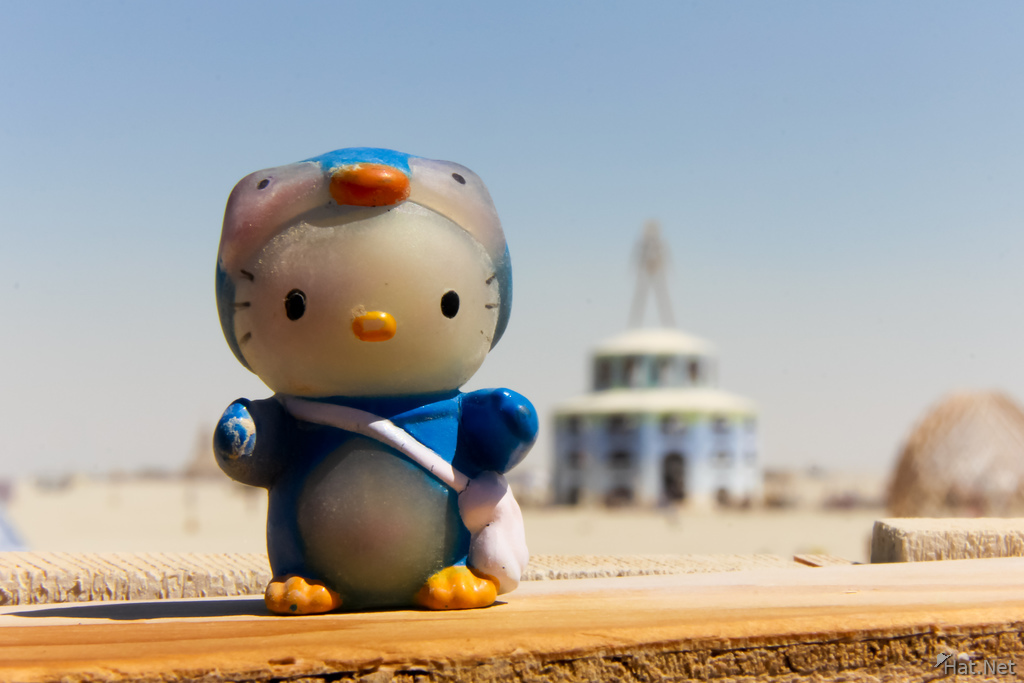 Hellow Kitty in Burning Man